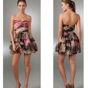 Diane Von Fursternberg Brighton Pink Dress NWT 12